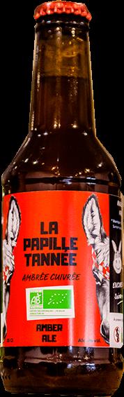 LA PAPILLE TANNÉE